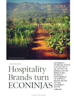 Global Spa – Hospitality brands' sustainability quotient