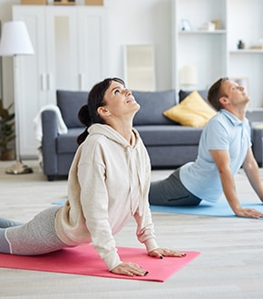 Three Stretching Exercises for Better Health (in an enclosed space)