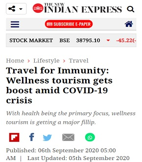Travel to Boost Immunity – Wellness travel gets boost amid COVID-19 crisis