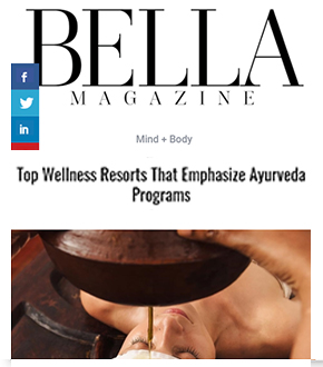 Top wellness resorts that emphasize Ayurveda Programs